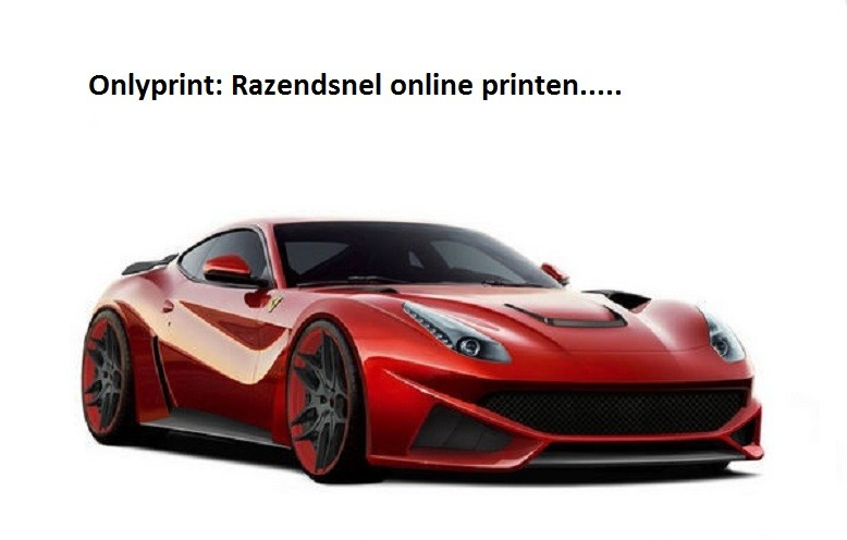 Printen met de snelheid van het licht : onlyprint